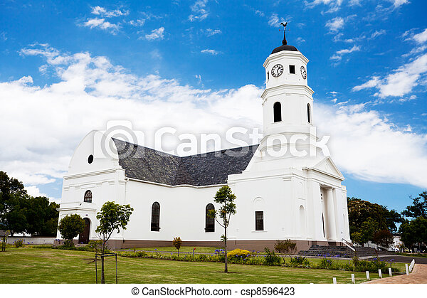 old church building in George, South Africa - csp8596423
