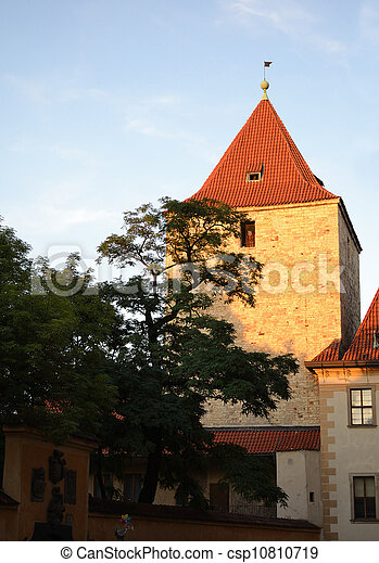 Old church in Prague Castle - csp10810719