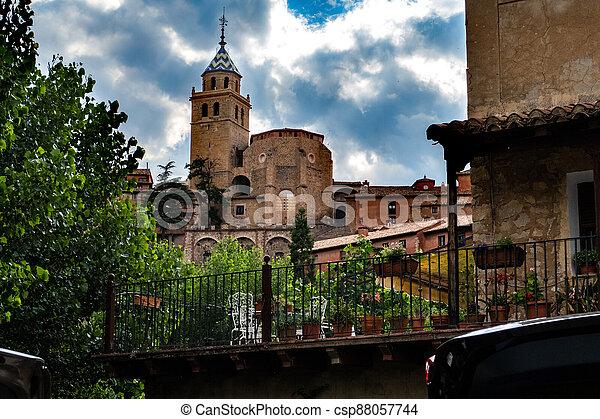 Old church village - csp88057744
