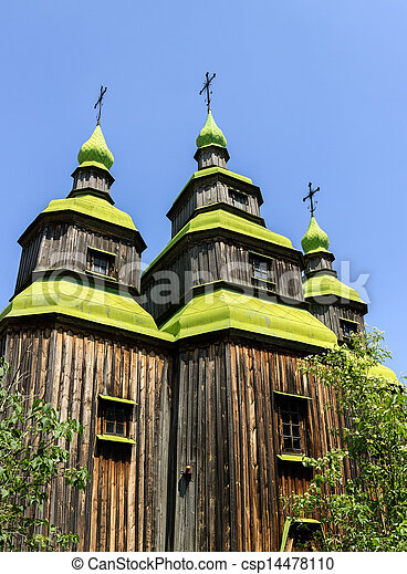 old church wooden - csp14478110