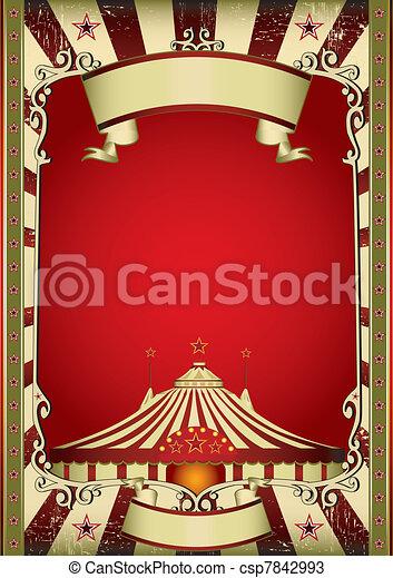old circus - csp7842993