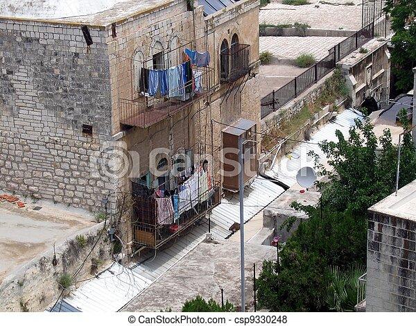 Old City of Jerusalem. - csp9330248