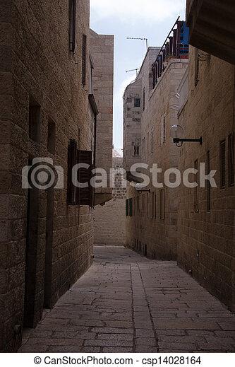 Old city of Jerusalem - csp14028164