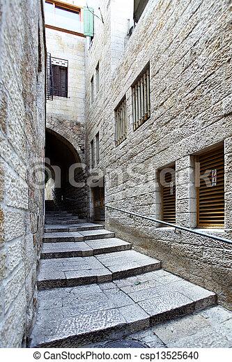 Old City of Jerusalem - csp13525640