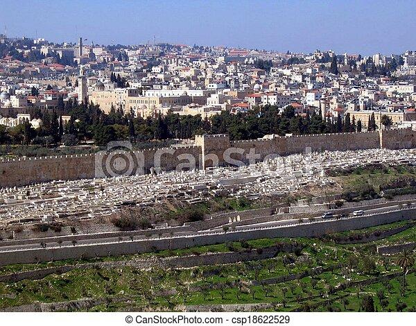 Old City of Jerusalem - csp18622529