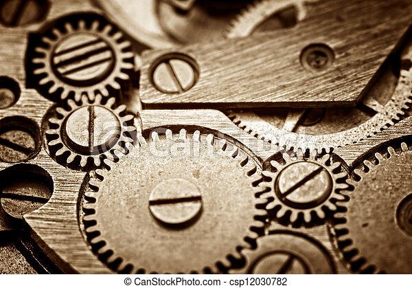 old clock - csp12030782