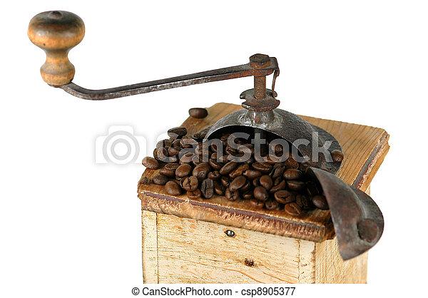 Old Coffee Grinder - csp8905377