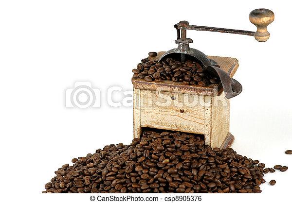Old Coffee Grinder - csp8905376