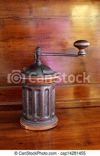 old coffee grinder - csp14281455