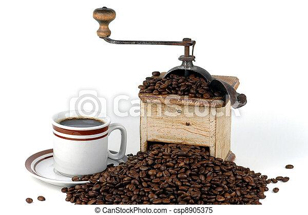 Old Coffee Grinder - csp8905375