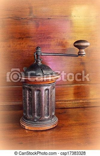 old coffee grinder - csp17383328