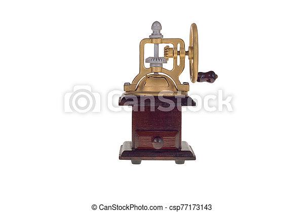 old coffee grinder - csp77173143