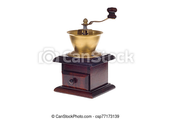 old coffee grinder - csp77173139