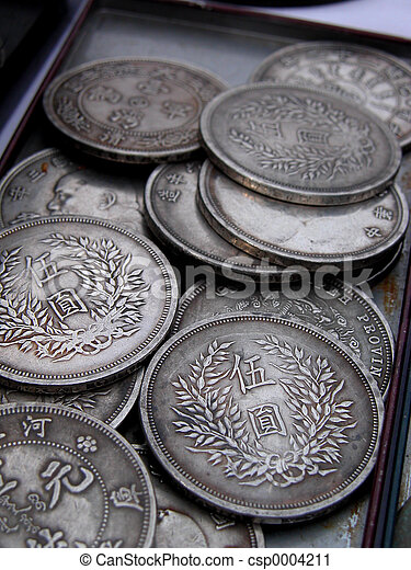 Old coins - csp0004211