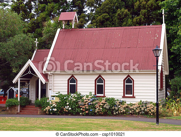 Old Colonial Church - csp1010021