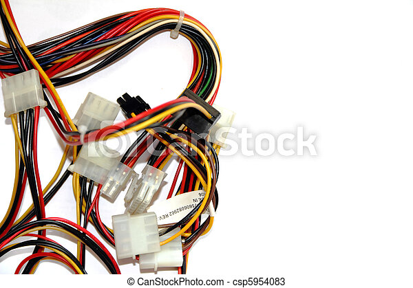 Old computer cables.