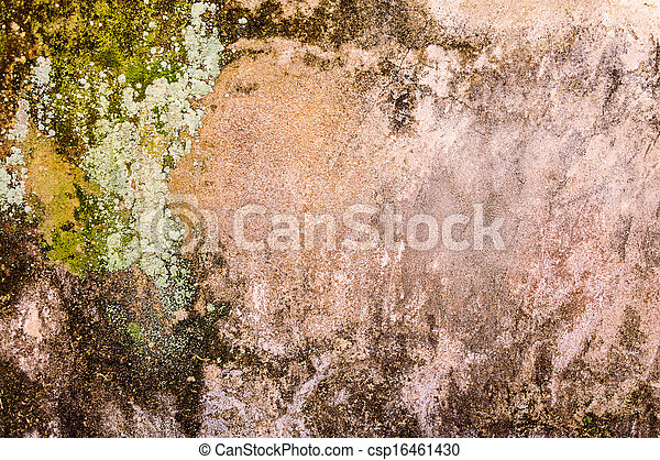 Old concrete wall - csp16461430