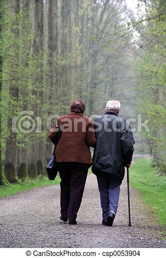 Old couple - csp0053904