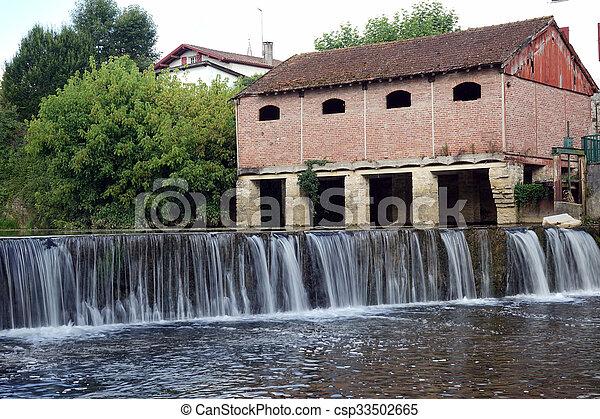 Old dam - csp33502665