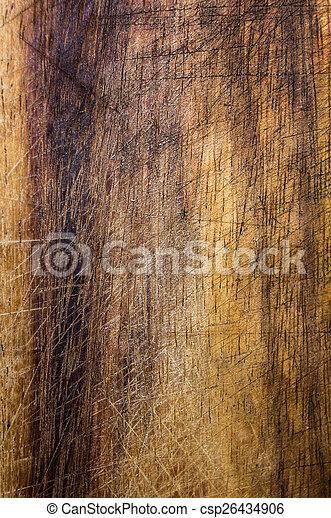 Old dark wood texture, vintage natural oak background with wood' - csp26434906