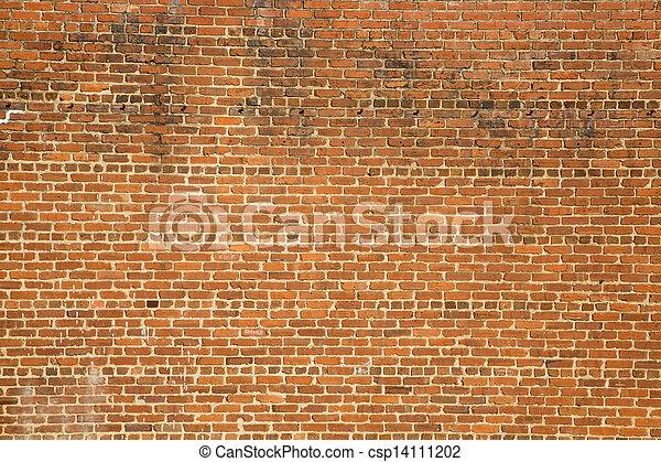 Old Dirty Brick Wall - csp14111202