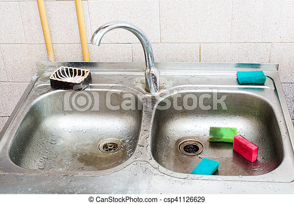 Dirty sink Stock Photo Images. 3,706 Dirty sink royalty free ...