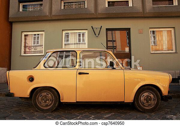 Old eastern Europe car - csp7640950