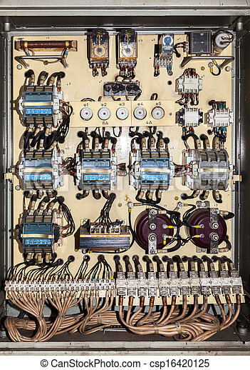Old electric service panel - csp16420125