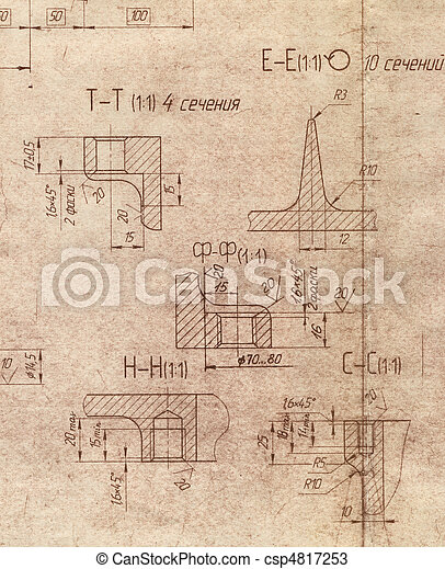The old engineering blueprint texture stock photos search old engineering blueprint stock photo malvernweather Choice Image