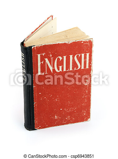 Old English Dictionary - csp6943851