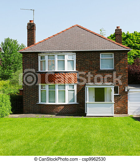 Old English House - csp9962530