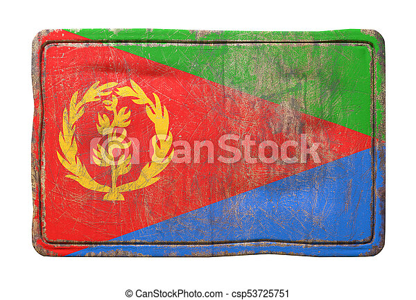 Old Eritrea flag - csp53725751