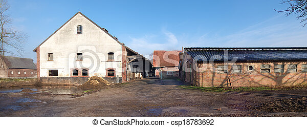 old farmhouse - csp18783692