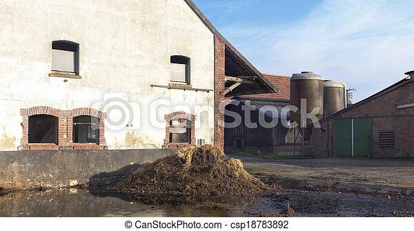 old farmhouse - csp18783892