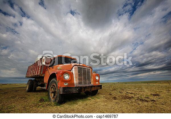 Old Farmtruck - csp1469787