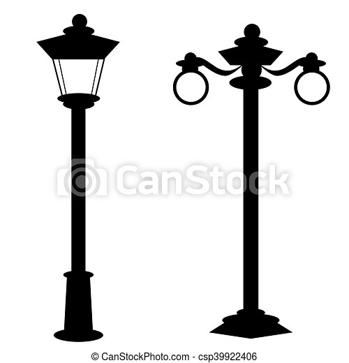 Old Fashion Street Lamps   Csp39922406