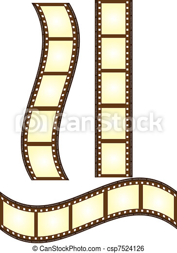 Old film vector old film isolated over white background clip old film vector voltagebd Image collections