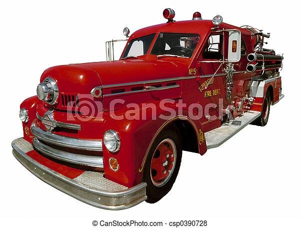 Old Firetruck - csp0390728