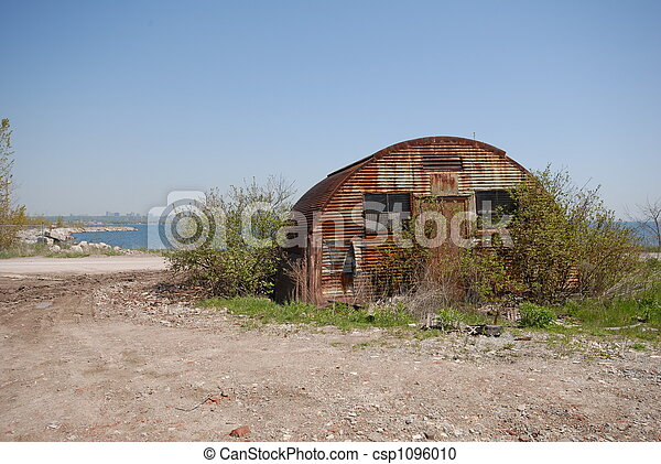 old forgotten shed - csp1096010