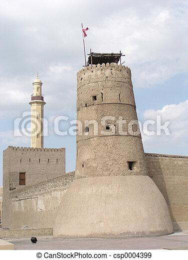 Old Fort (Dubai) - csp0004399