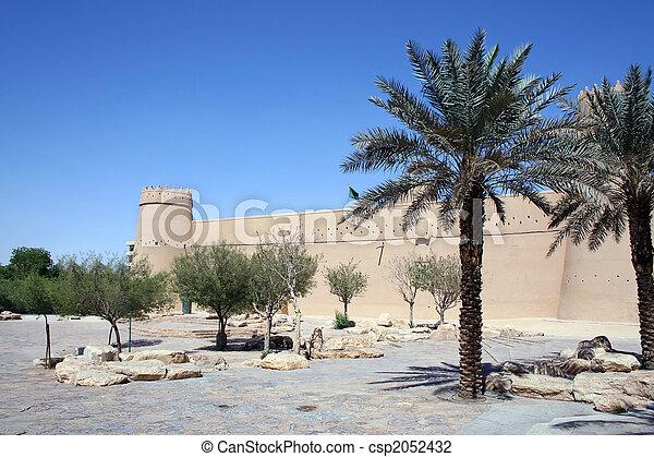 Old fort in Riyadh - csp2052432