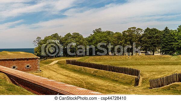 Old Fort Niagara - csp44728410