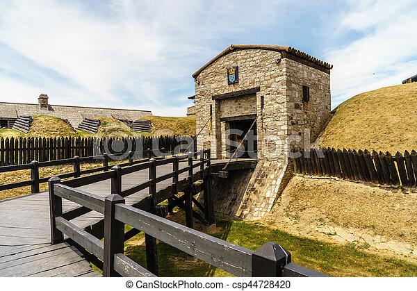Old Fort Niagara - csp44728420
