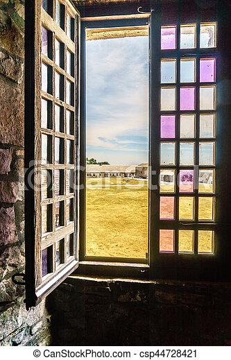 Old Fort Niagara - csp44728421