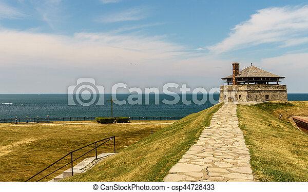 Old Fort Niagara - csp44728433
