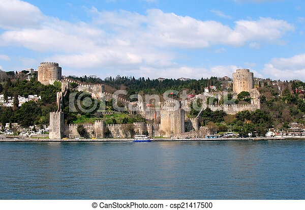 Old fortress in Istanbul - csp21417500