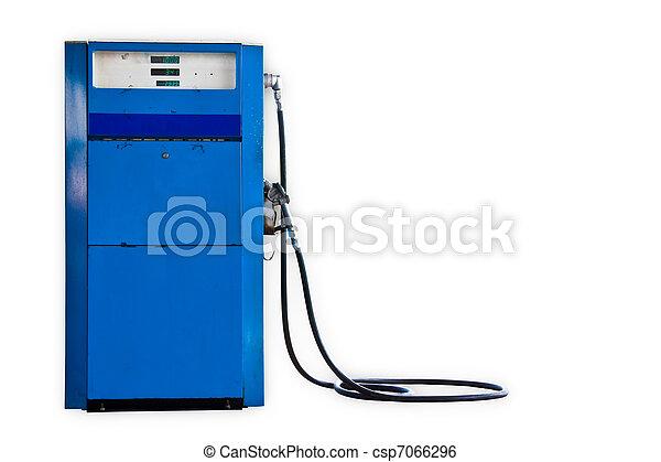 Old gasoline pump - csp7066296