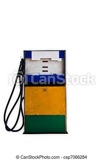 Old gasoline pump - csp7066284