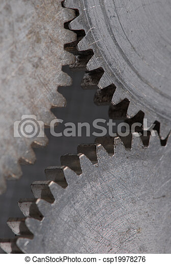 old gears - csp19978276