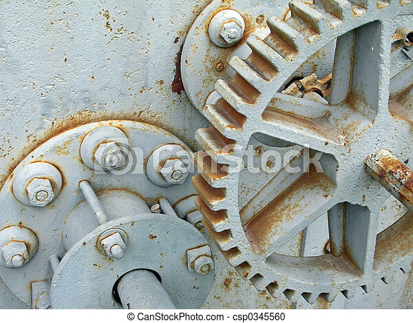 Old gears - csp0345560